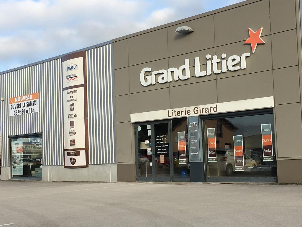 grand litier literie girard - magasin de meubles, 7 b rue pierre