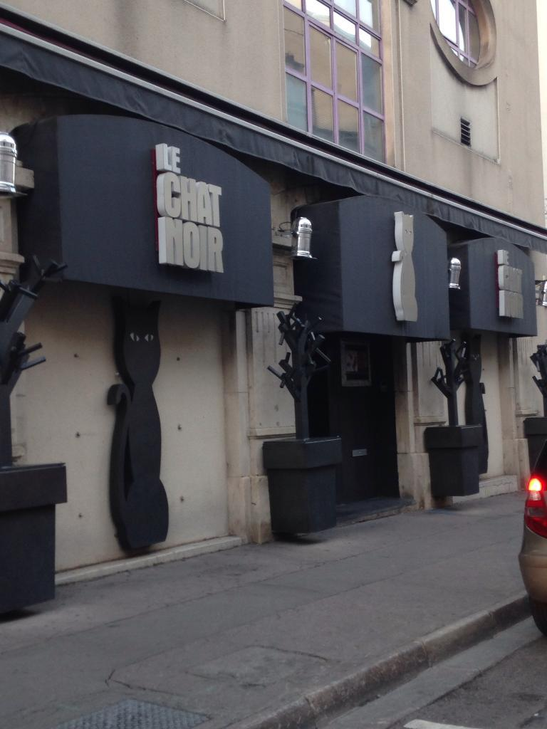 Livaro le chat noir discoth que 63 rue jeanne d 39 arc for Rue catherine opalinska nancy