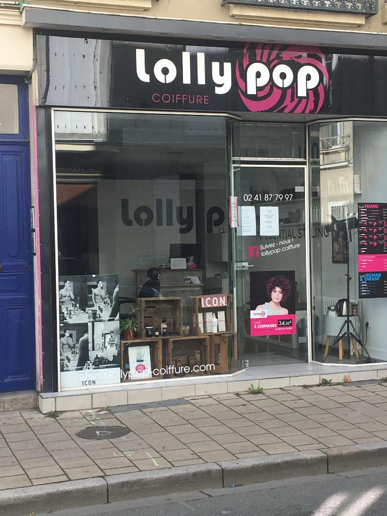 Lollypop Coiffure Coiffeur 136 Rue Bressigny 49000 Angers