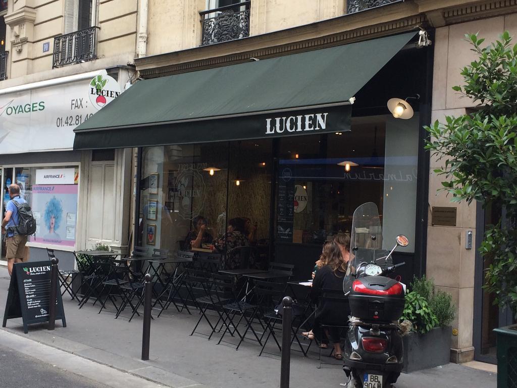 lucien restaurant 8 rue joubert 75009 paris adresse horaire. Black Bedroom Furniture Sets. Home Design Ideas