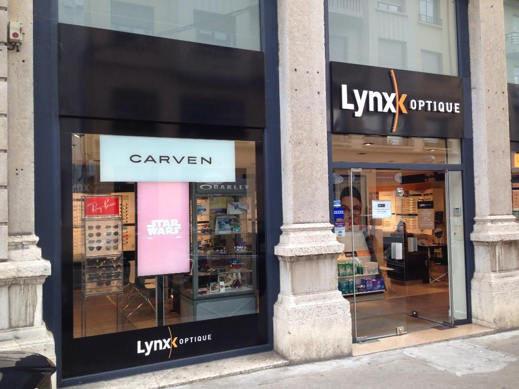 b46c5c003da25f Lynx Optique - Opticien, 44 boulevard République 38200 Vienne ...