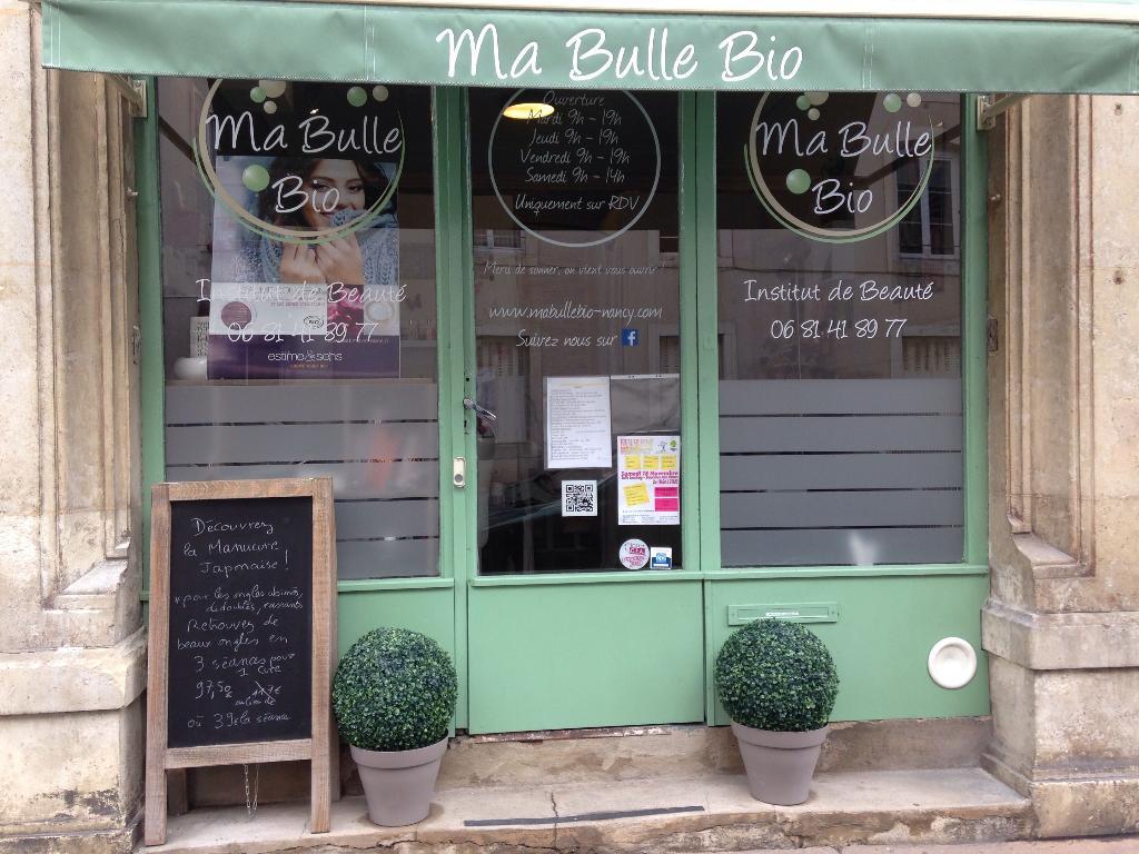Ma bulle bio institut de beaut 33 rue sainte catherine for Rue catherine opalinska nancy