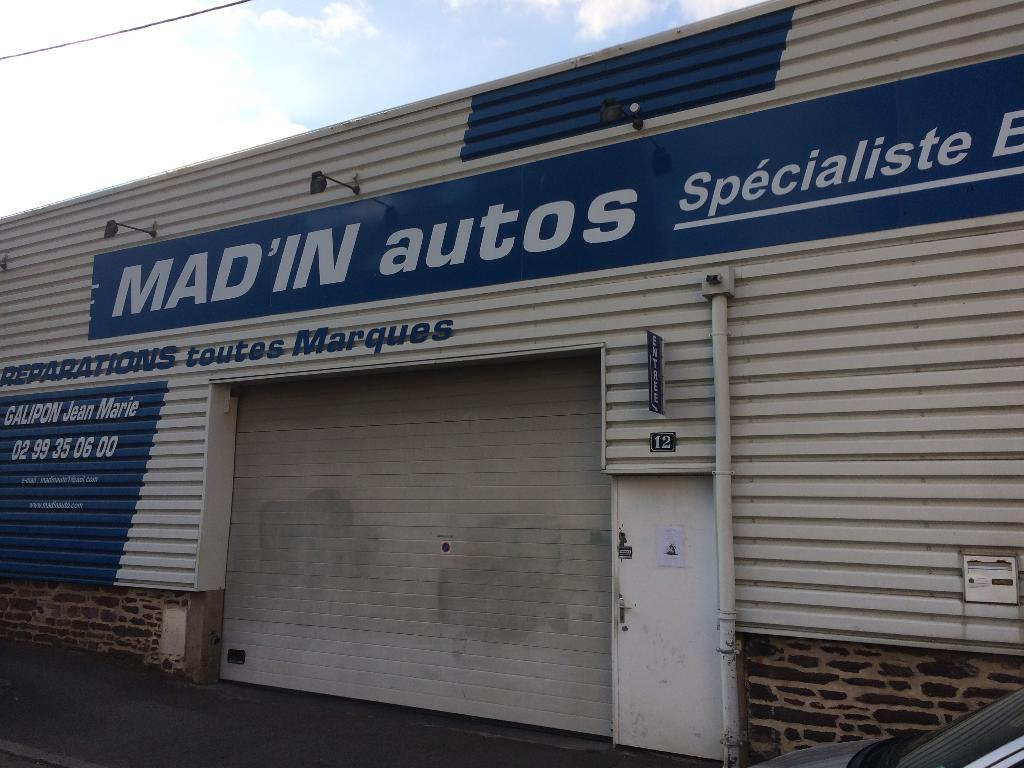 Mad 39 in autos garage automobile 12 rue denis papin 35000 for Garage peugeot sourget rennes