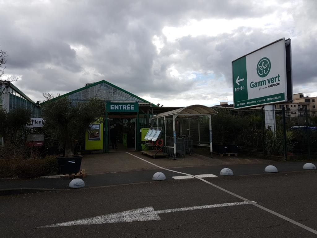 Gamm Vert Groupe Maïsadour - Jardinerie, 41 rue Jardins 40100 Dax ...