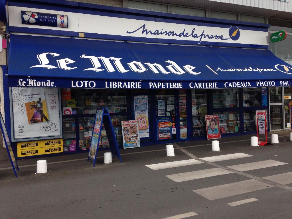 20800ffb70 Maison de la Presse, 19 av Mar Gallieni, 33700 Mérignac - Presse (adresse,  horaires, ouvert le dimanche)