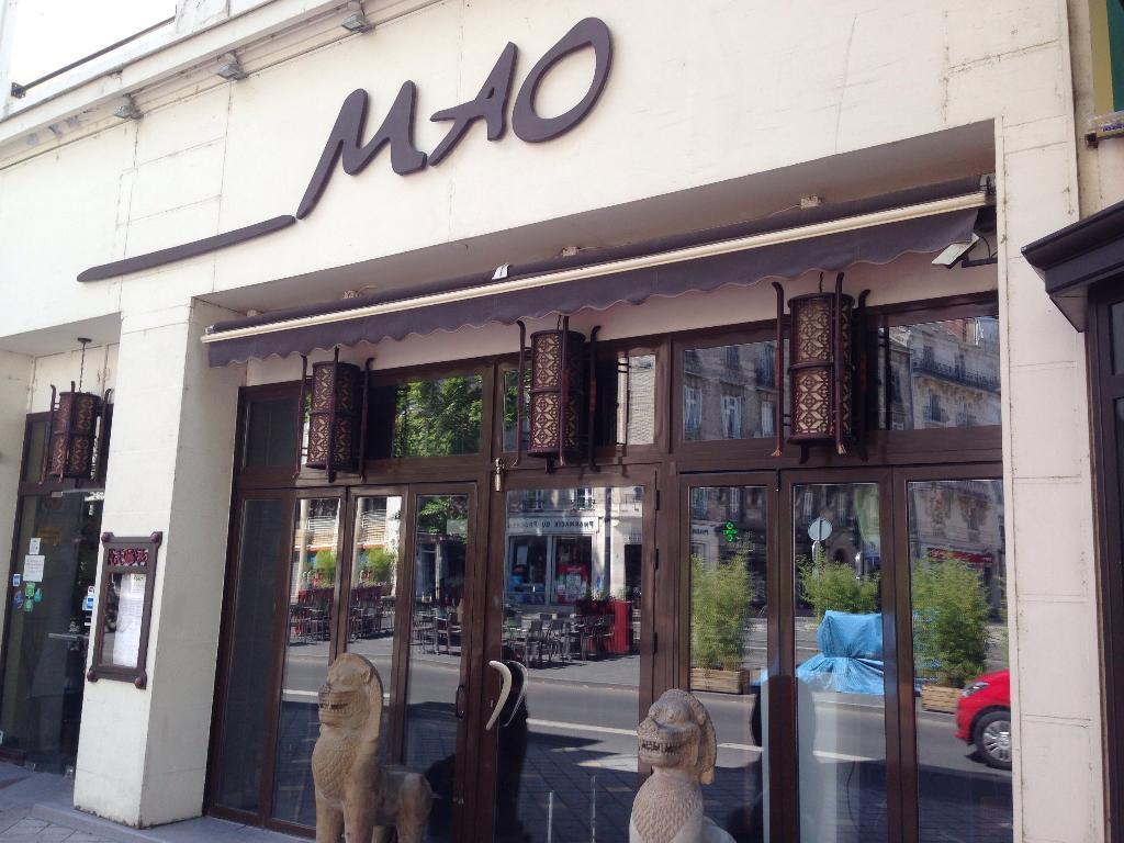 Mao Restaurant 3 Avenue Grammont 37000 Tours Adresse
