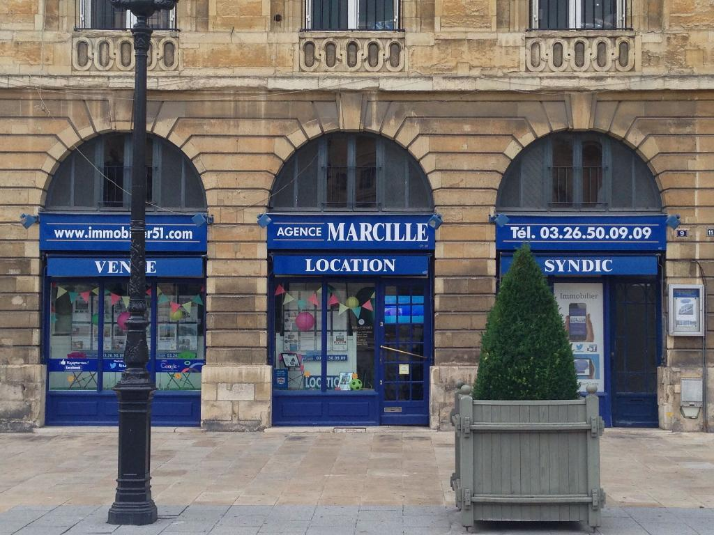 Marcille immobilier agence immobili re 9 place royale for Agence paysage reims