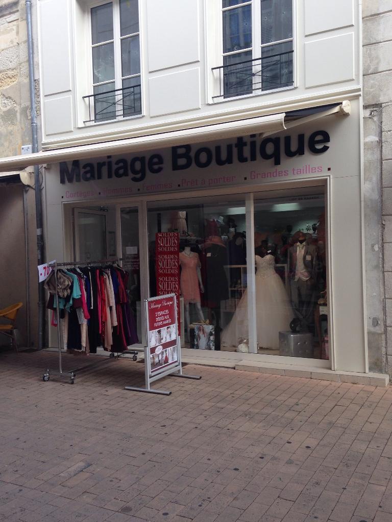 92188bf0fe1 Mariage Boutique Saintes - Robes de mariée (adresse