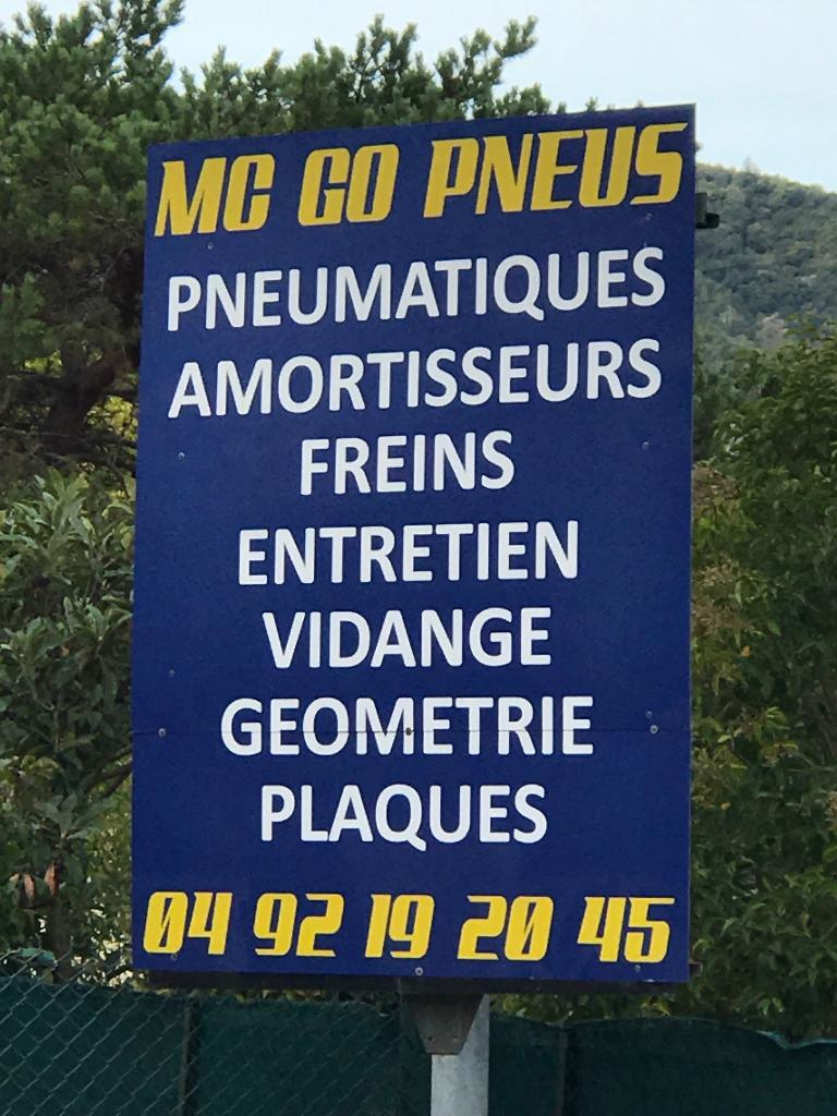 Go pneus garage automobile 645 avenue r publique 06550 for Garage ad la roquette sur siagne