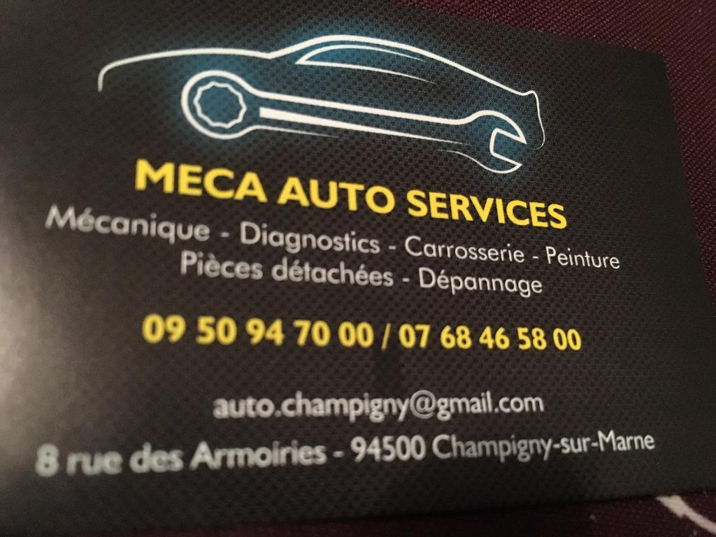 meca auto services garage 8 rue des armoiries 94500 champigny sur marne adresse horaire. Black Bedroom Furniture Sets. Home Design Ideas