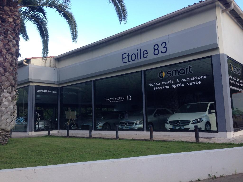 Mercedes Benz Etoile 83 Services Concessionnaire Garage Automobile