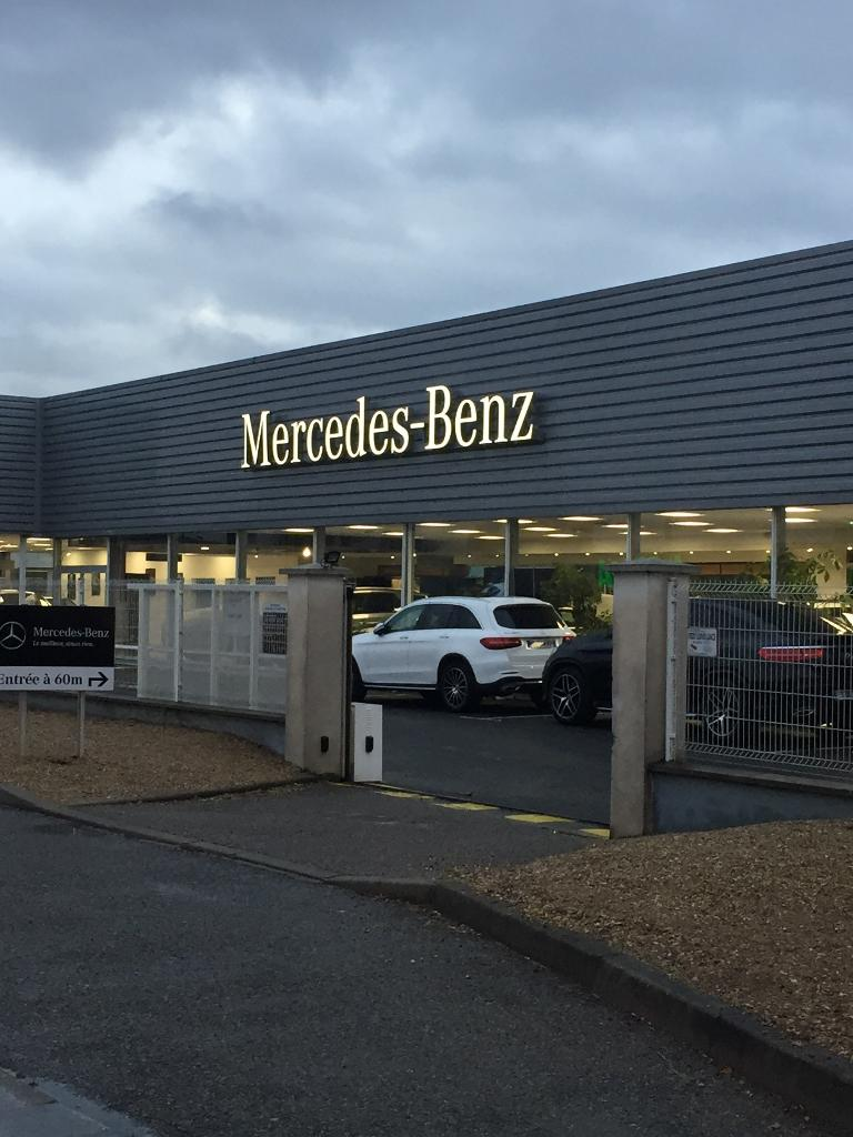 mercedes benz lyon garage automobile 118 rue beno t