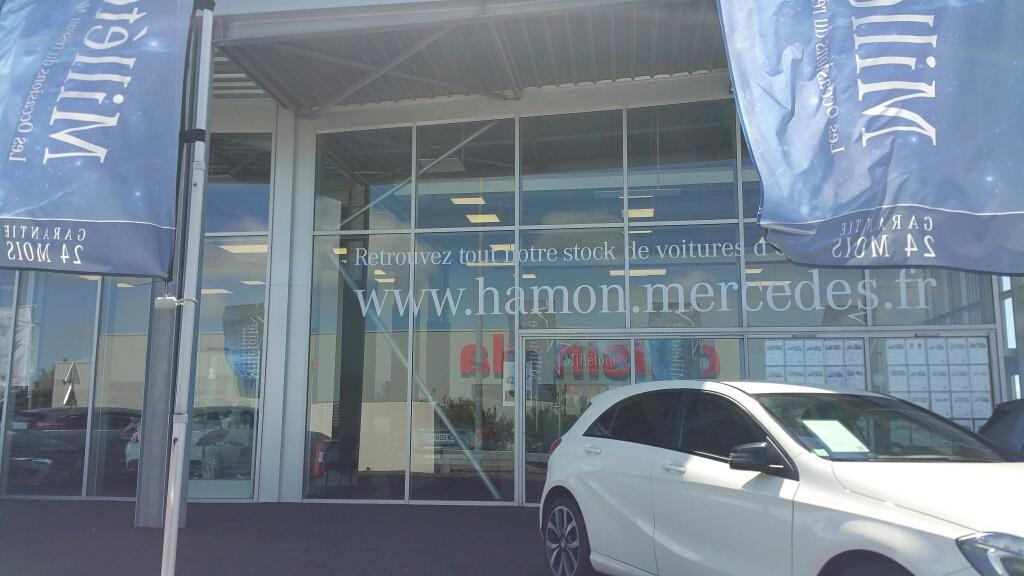 Mercedes hamon automobiles garage automobile route for Garage peugeot lannion 22300