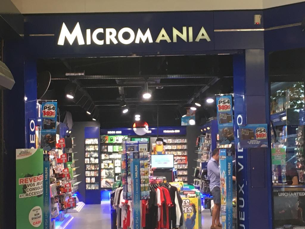 c07443643723ae Micromania, 10 chem Jean Petit, 69300 Caluire et Cuire - Magasin de jeux  vidéo (adresse, horaires, avis)