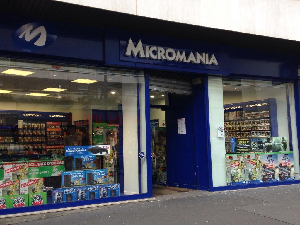 1155325749912d Micromania, 365 r Vaugirard, 75015 Paris - Magasin de jeux vidéo (adresse,  avis)