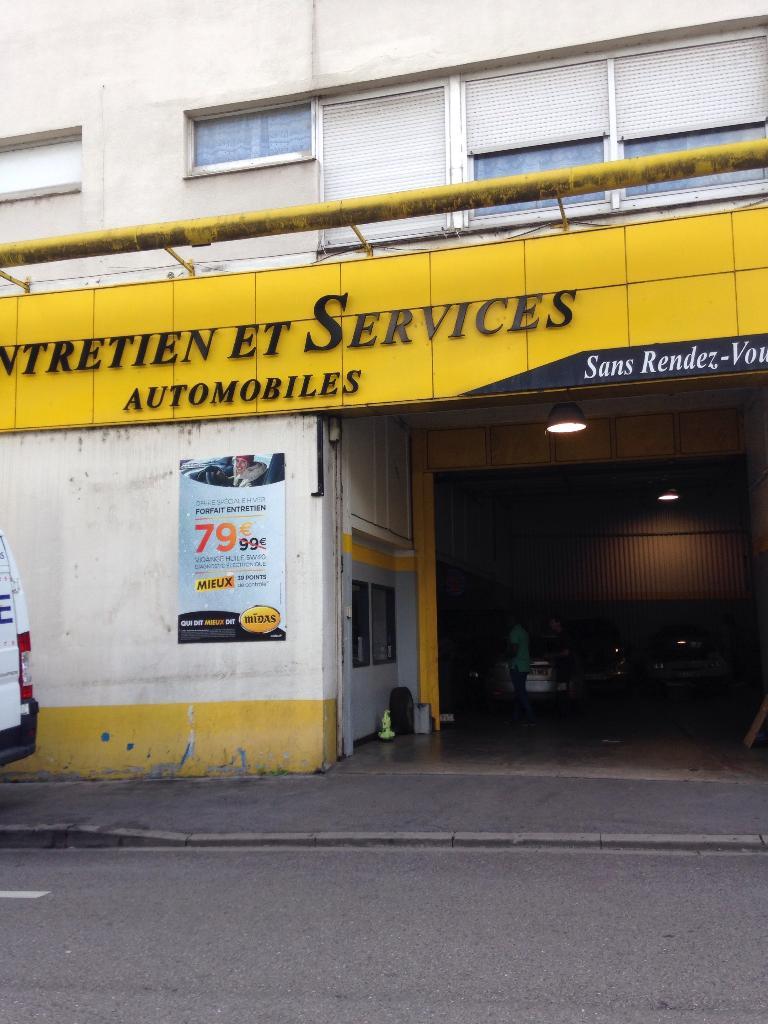 Midas nancy lobau garage automobile 6 bis rue mansuy for Garage midas strasbourg