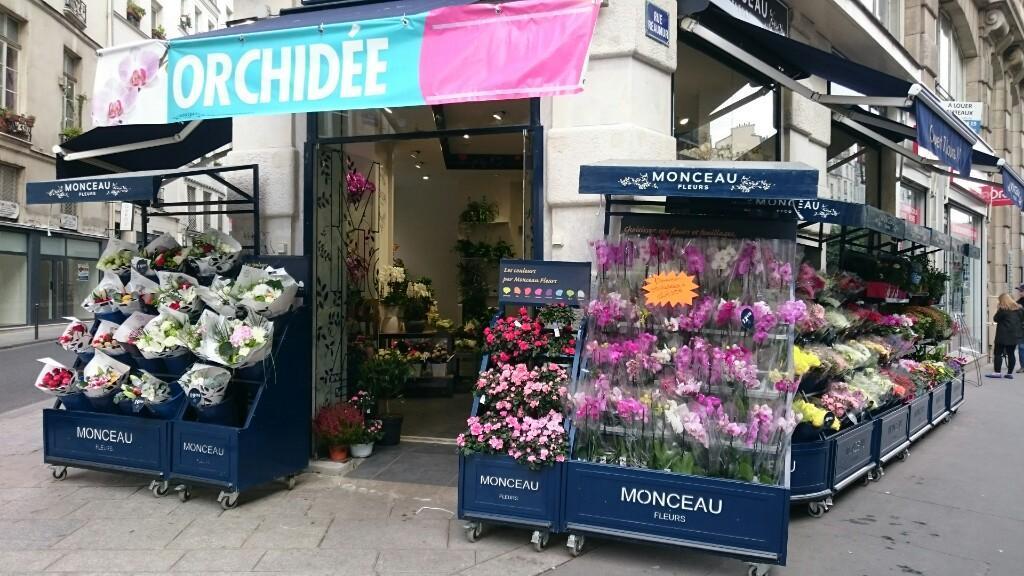 Monceau Fleurs - Fleuriste, 110 rue Réaumur 75002 Paris ...