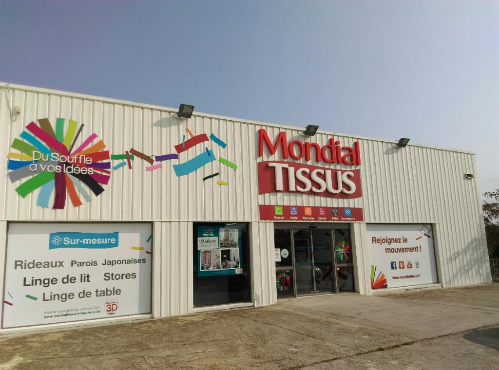 Mondial tissus tissus au m tre 1595 avenue espagne 66000 perpignan adresse horaire - Mondial tissu nantes horaires ...