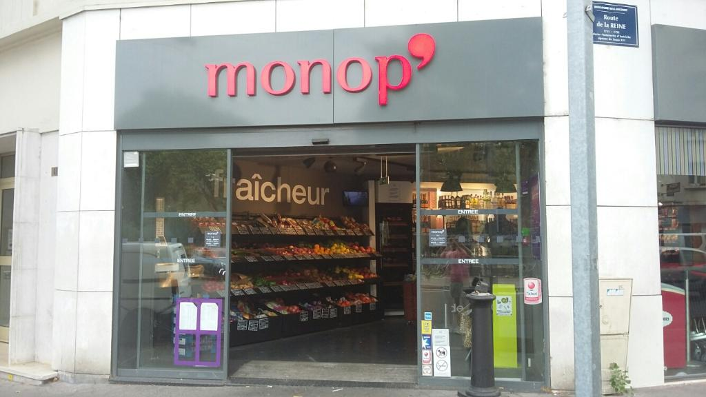Monop supermarch hypermarch 1 route reine 92100 boulogne billancourt adresse horaire - Parking porte de saint cloud ...