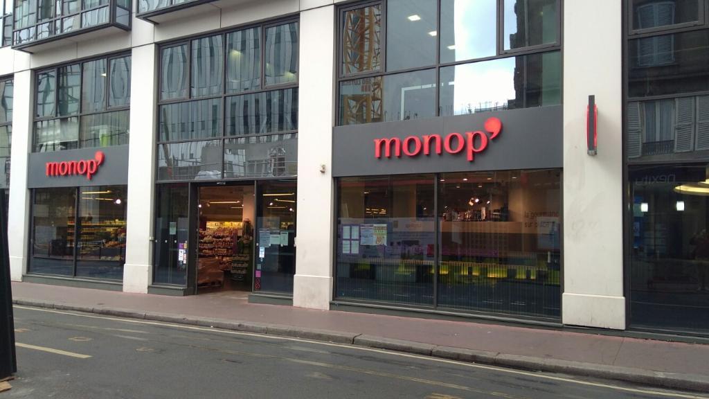 Monop 39 supermarch hypermarch 20 rue anatole france - Garage anatole france villeneuve saint georges ...