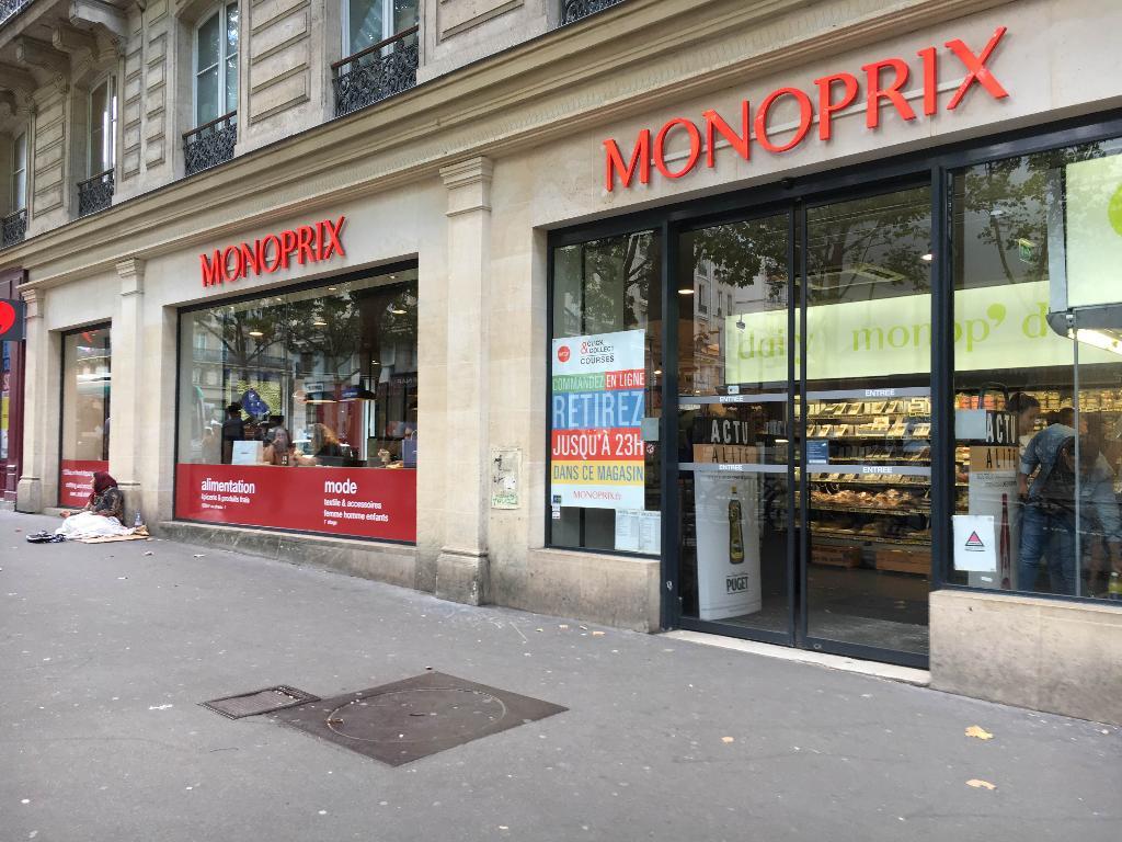monoprix supermarch hypermarch 24 boulevard saint. Black Bedroom Furniture Sets. Home Design Ideas