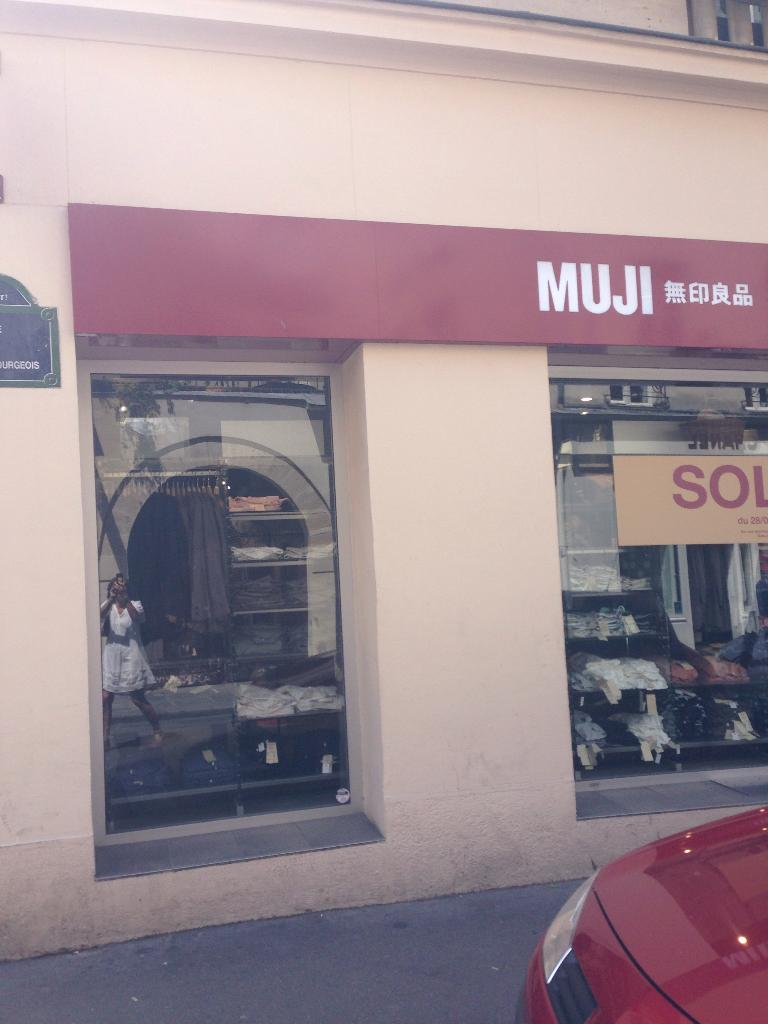 Muji magasin de meubles 47 rue des francs bourgeois for Maison muji