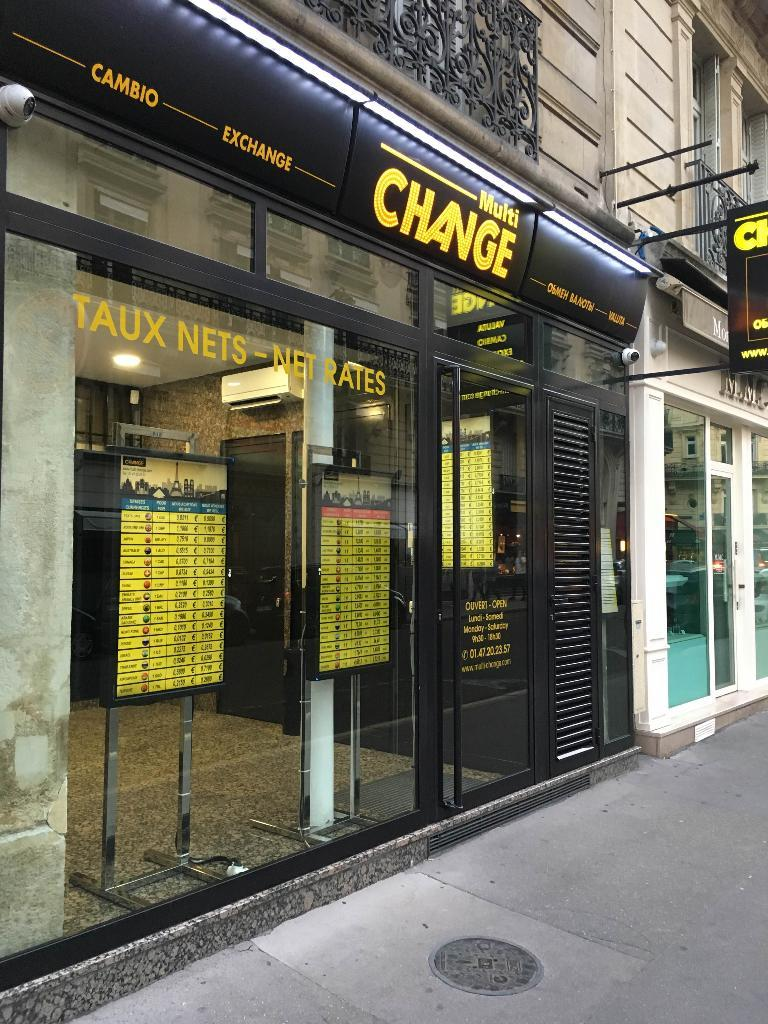 Multi change bureau de change 7 rue marbeuf 75008 paris adresse horaire - Bureau de change paris 7 ...