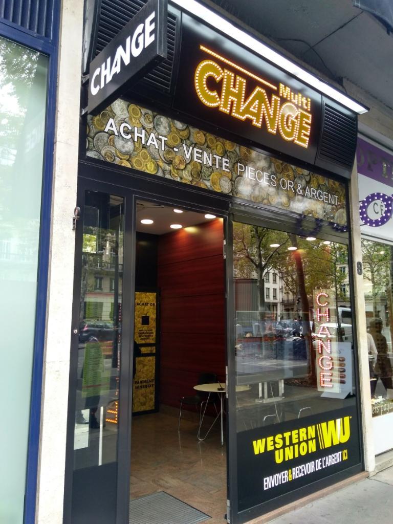 Multichange bureau de change 8 boulevard de la madeleine 75009 paris adresse horaire - Bureau de change paris 7 ...