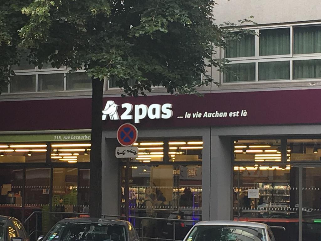 My auchan supermarch hypermarch 115 rue lecourbe - Horaire auchan longuenesse ...