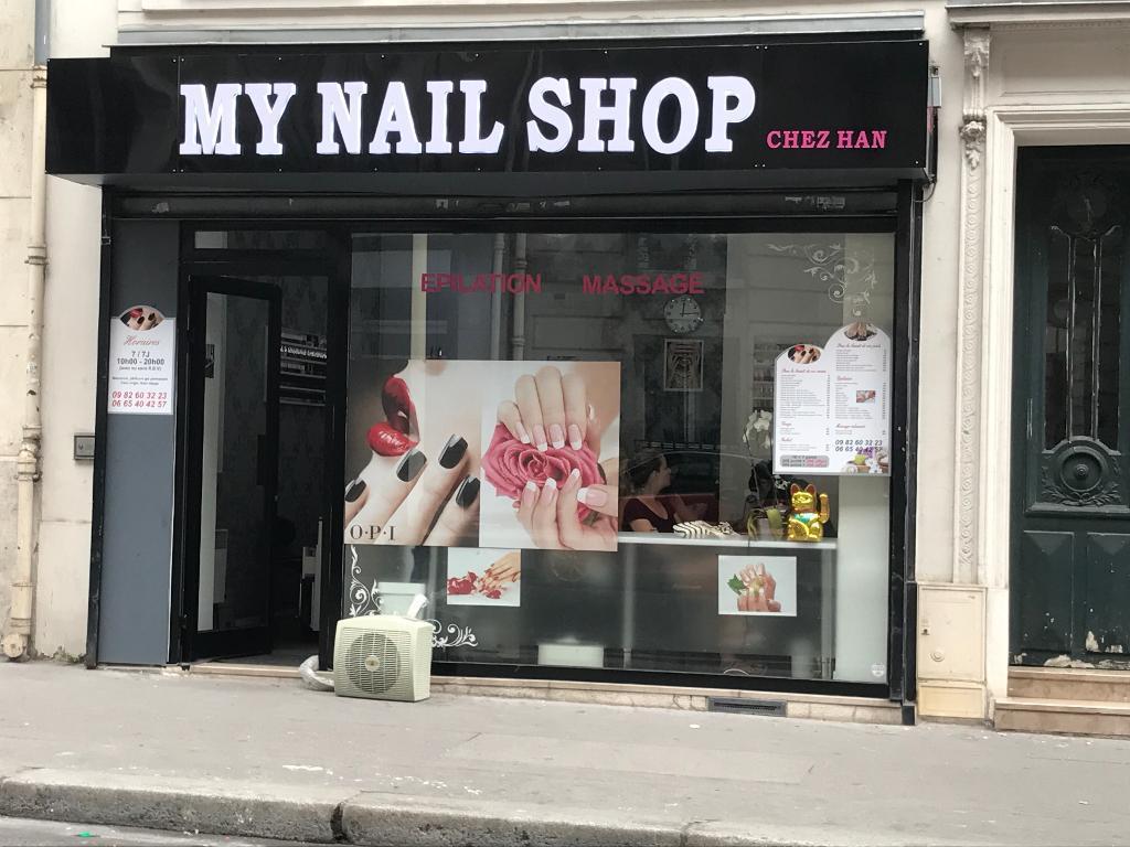 my nail shop institut de beaut 36 rue poussin 75016 paris adresse horaire. Black Bedroom Furniture Sets. Home Design Ideas