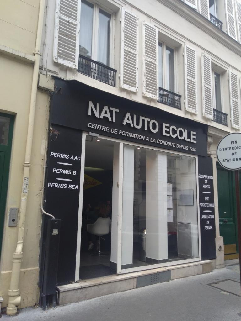 nat auto ecole auto cole 8 rue m d ric 75017 paris adresse horaire. Black Bedroom Furniture Sets. Home Design Ideas
