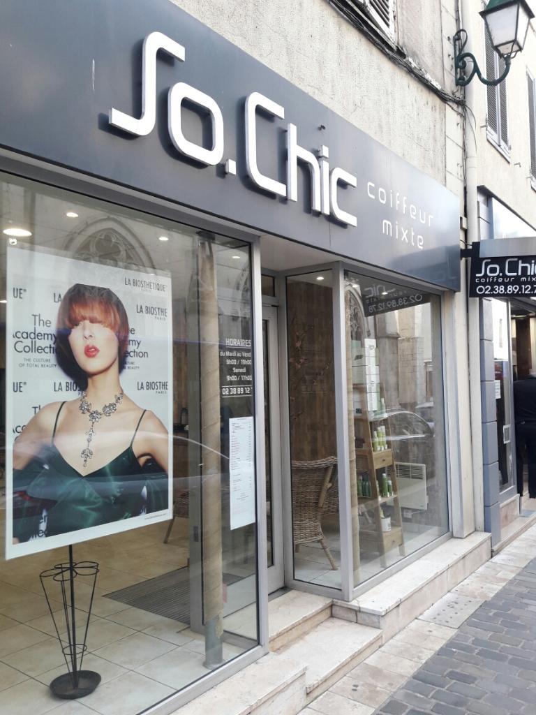 So Chic Coiffeur - Coiffeur 55 rue Gu00e9nu00e9ral Leclerc 45200 Montargis - Adresse Horaire