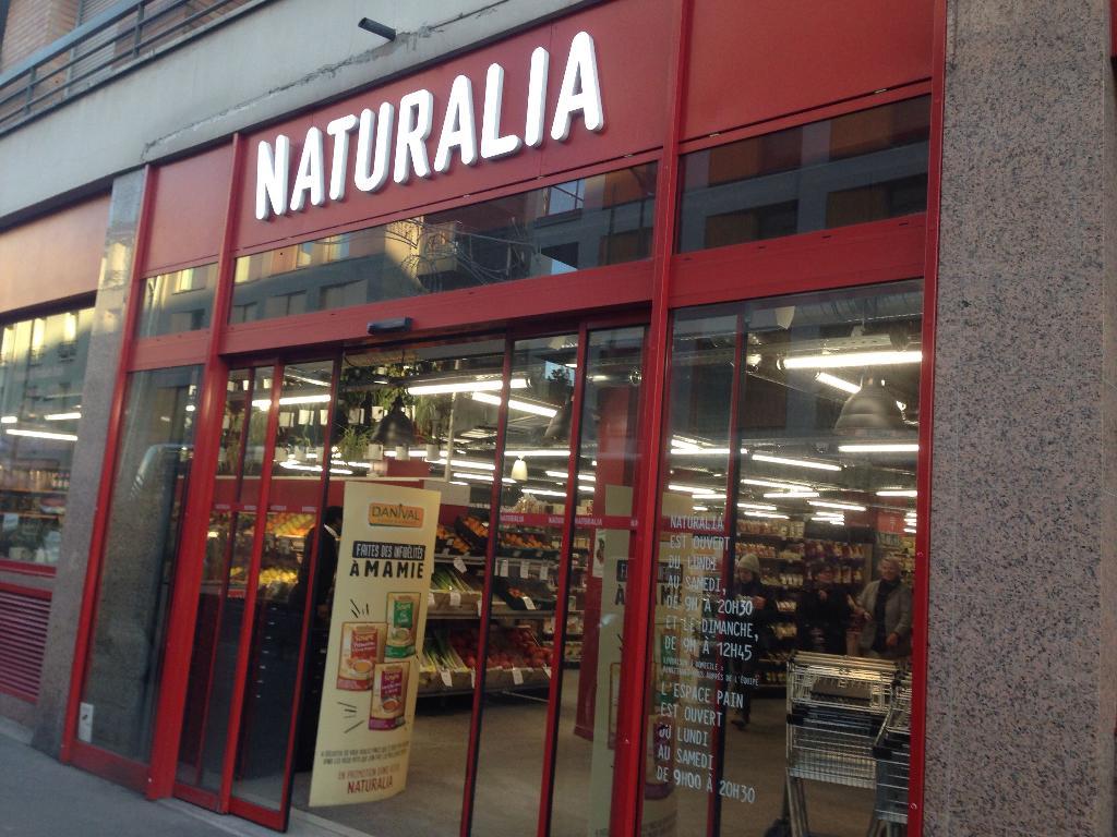 Naturalia magasin bio 90 rue de paris 93260 les lilas for Garage les lilas