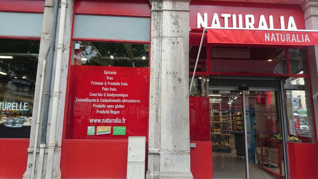 Naturalia France Magasin Bio 18 Avenue Jean Jaures 69007 Lyon