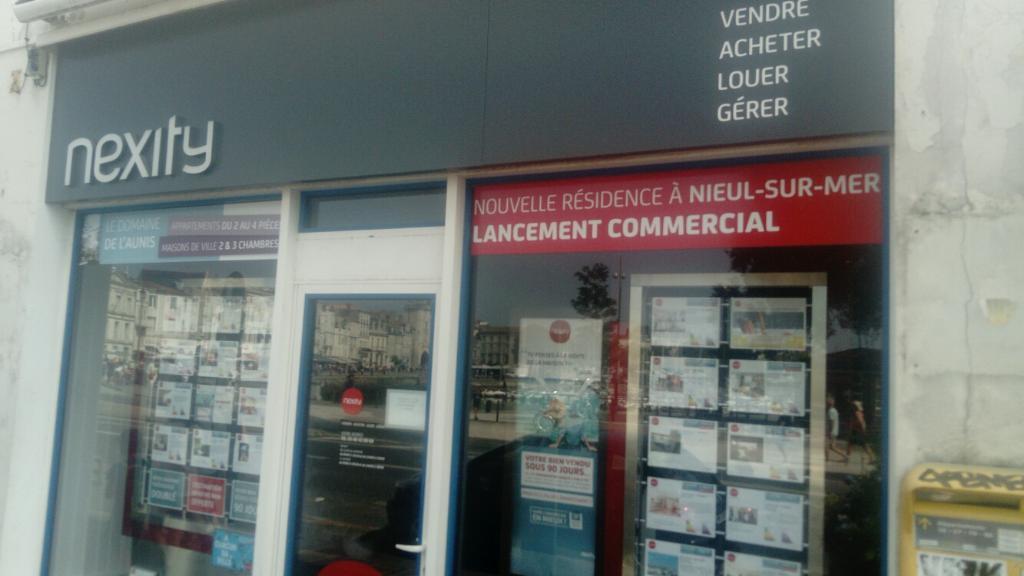 Nexity Agence Immobili 232 Re 11 Quai Valin 17000 La