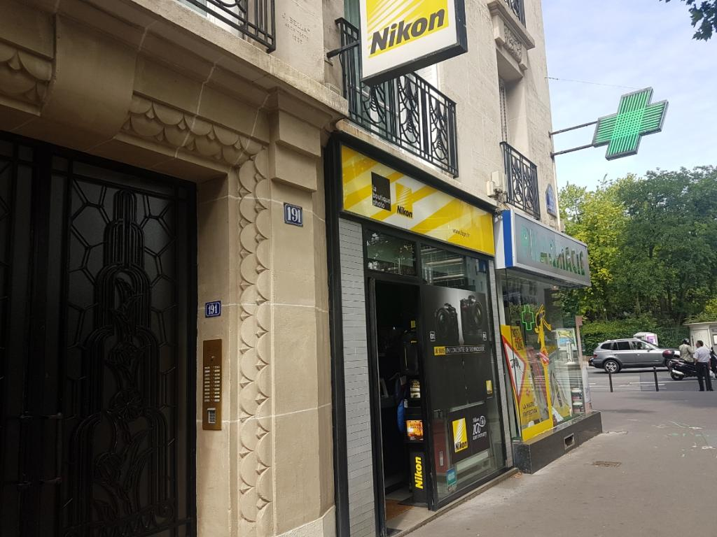 Nikophot mat riel photo et vid o 191 rue courcelles for 5 rue belidor 75017 paris