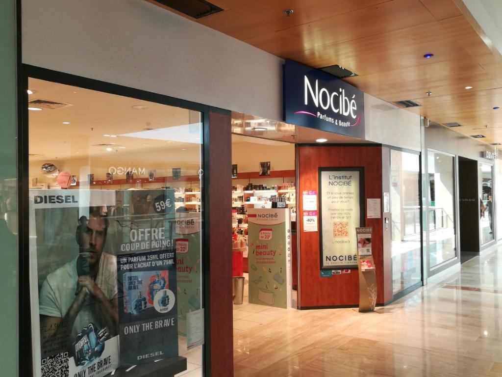 Nocib parfumerie 4 rue henri oudin 86000 poitiers for Centre commercial poitiers