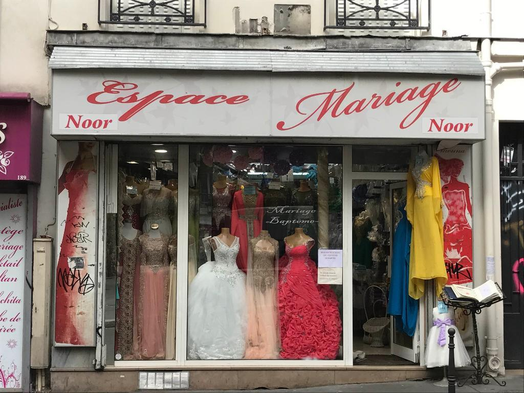 Magasin Barbes Mariage