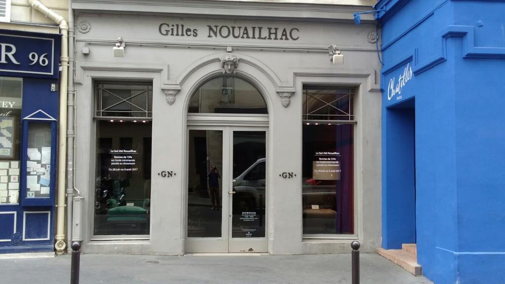 nouailhac gilles magasin de meubles 94 rue du bac 75007. Black Bedroom Furniture Sets. Home Design Ideas