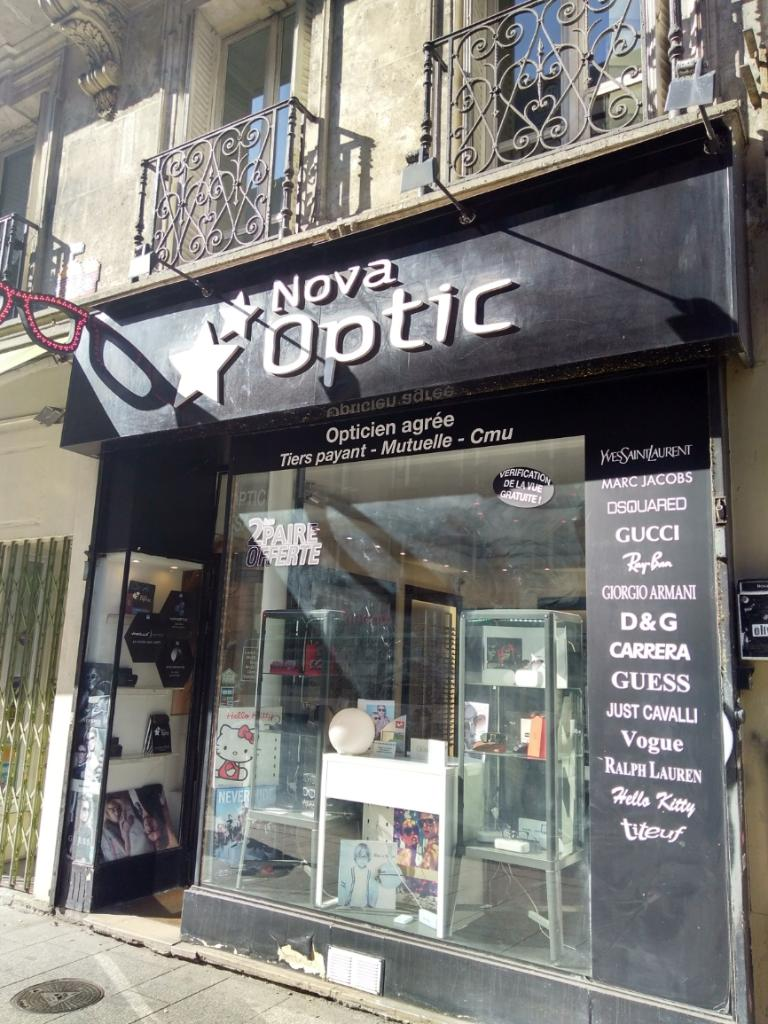 Nova Optic Paris - Opticien (adresse, horaires, avis) 29433132221d