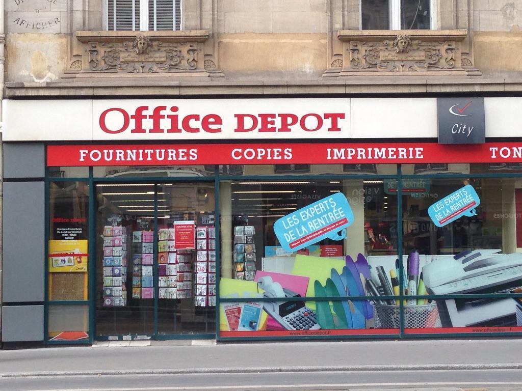 Office depot city paris 8 me p pini re vente de mat riel - Office depot boulevard des batignolles ...