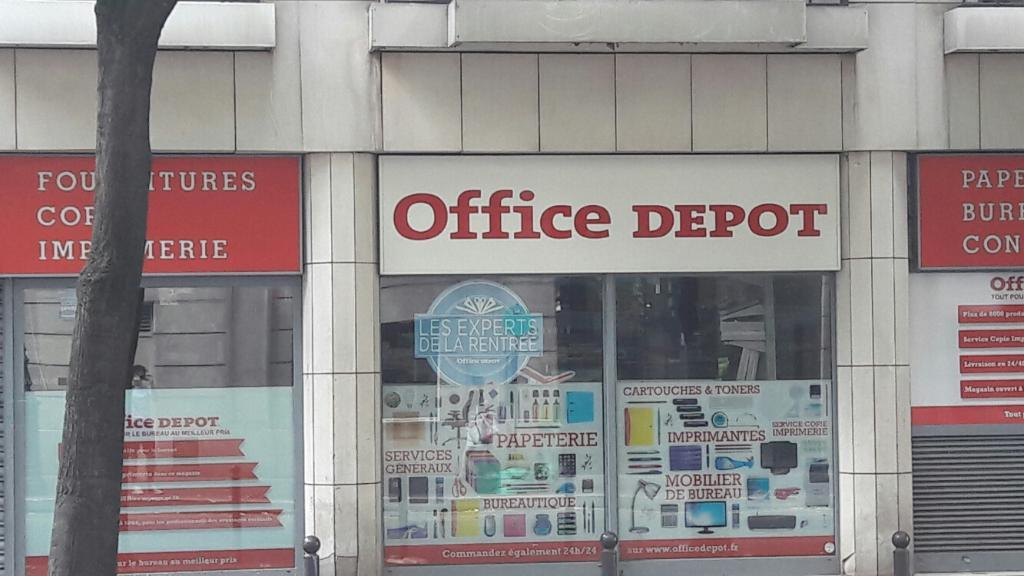 Office depot city paris 15 me vouill vente de mat riel for Depot adresse