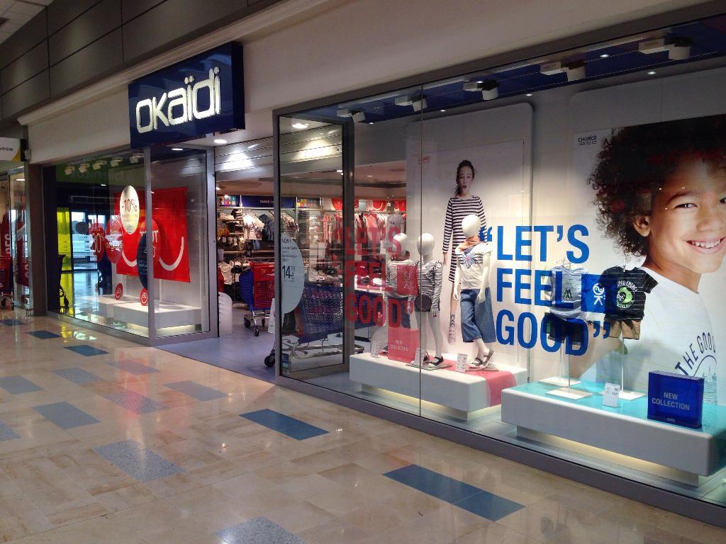 Okaidi v tements enfant centre commercial la - Centre commercial cesson ...