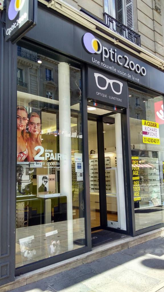 Optic 2000 - Opticien, 11 rue Auber 75009 Paris - Adresse, Horaire 3948890cf5bf