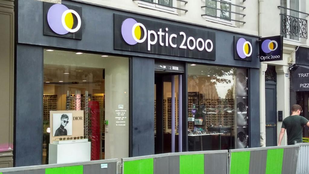 Optic 2000 opticien 100 rue montmartre 75002 paris for Decor 2000 ajaccio horaires