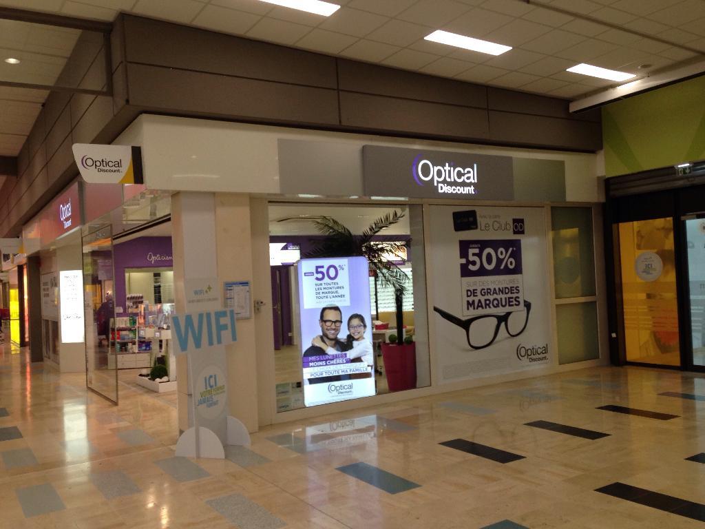 Optical discount opticien centre commercial la - Centre commercial cesson ...