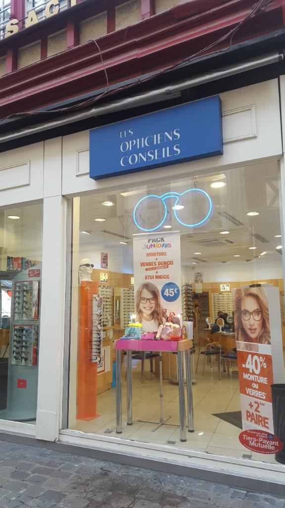 Opticiens Conseils - Opticien, 78 rue Gros Horloge 76000 Rouen ... 29d93114d231