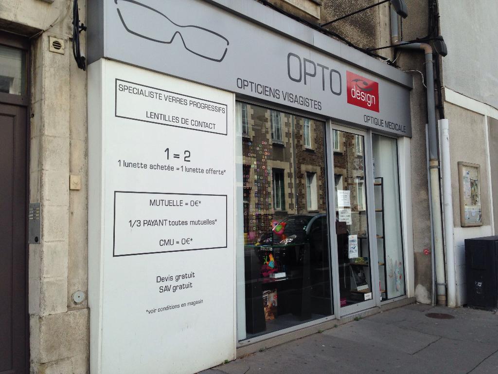Opto design opticien 142 rue du g n ral buat 44000 for Decor 2000 ajaccio horaires