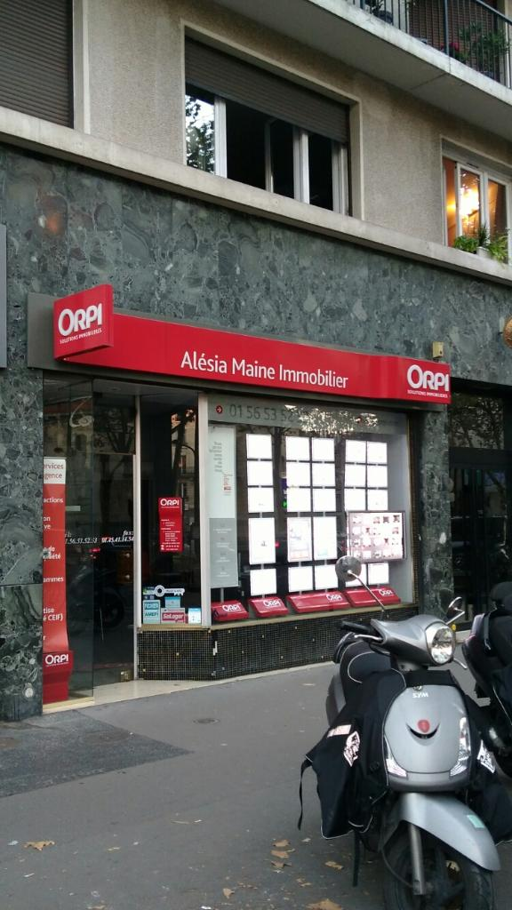 Orpi maine al sia immobilier agence immobili re 226 for Agence immobiliere 75014