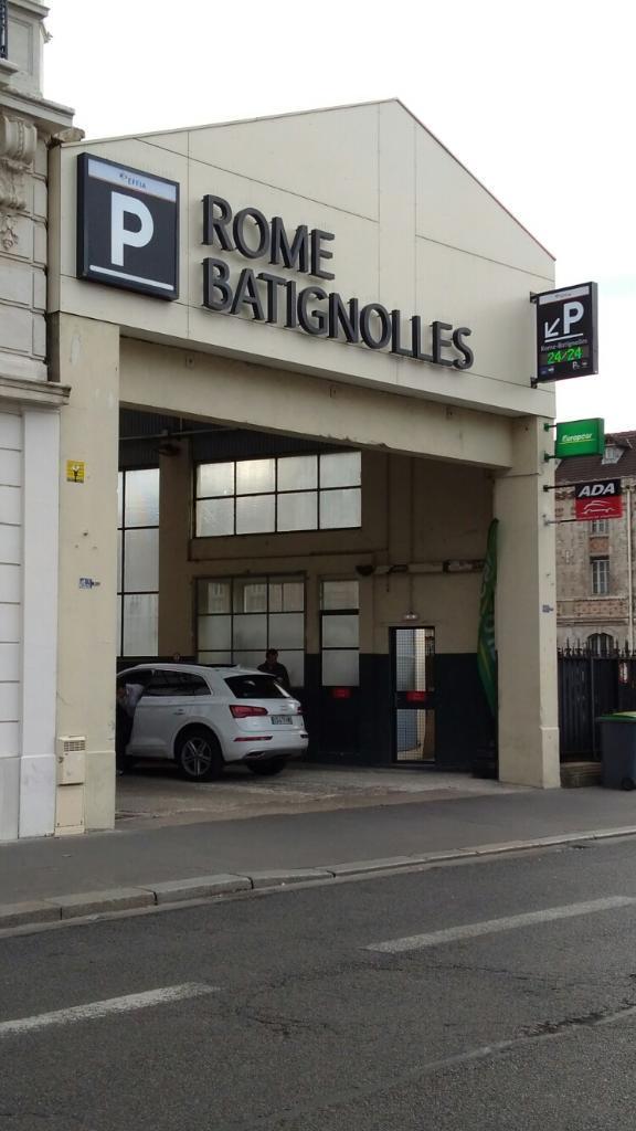 parking effia paris europe rome batignolles exploitation de parkings 43 bis boulevard des